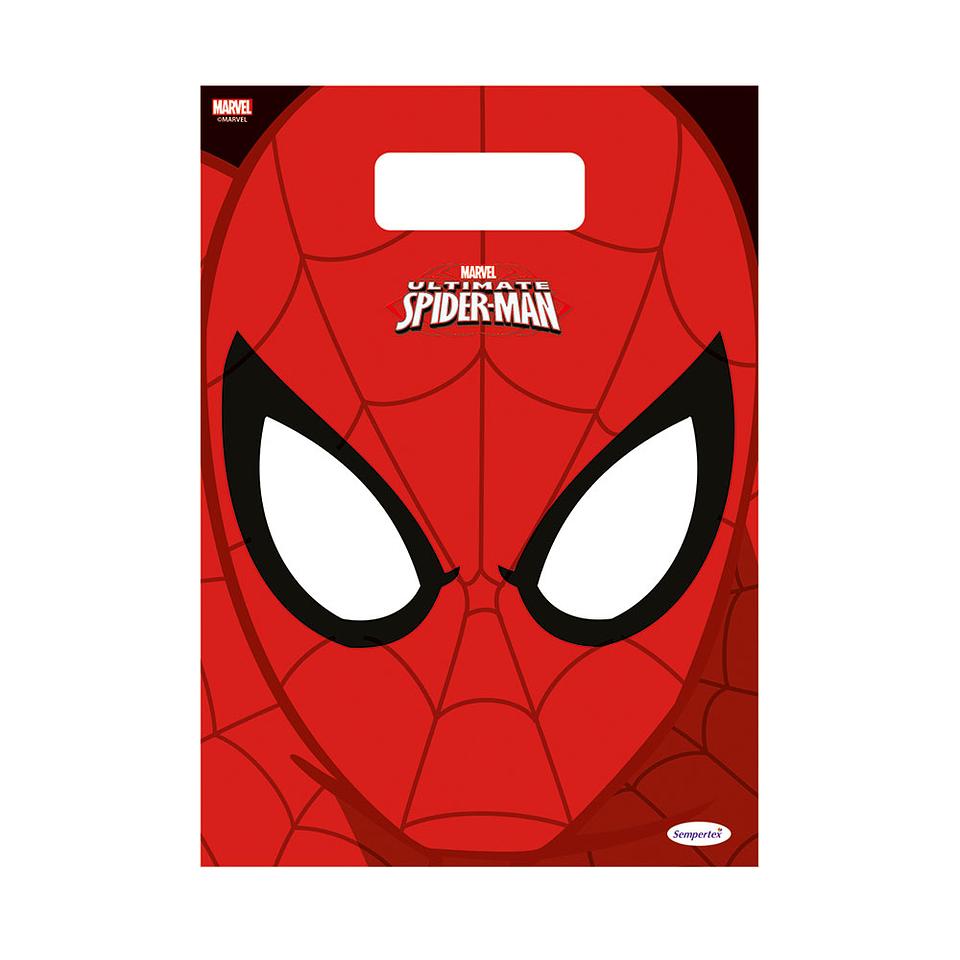 Bolsitas De Spiderman X 8 Unidades