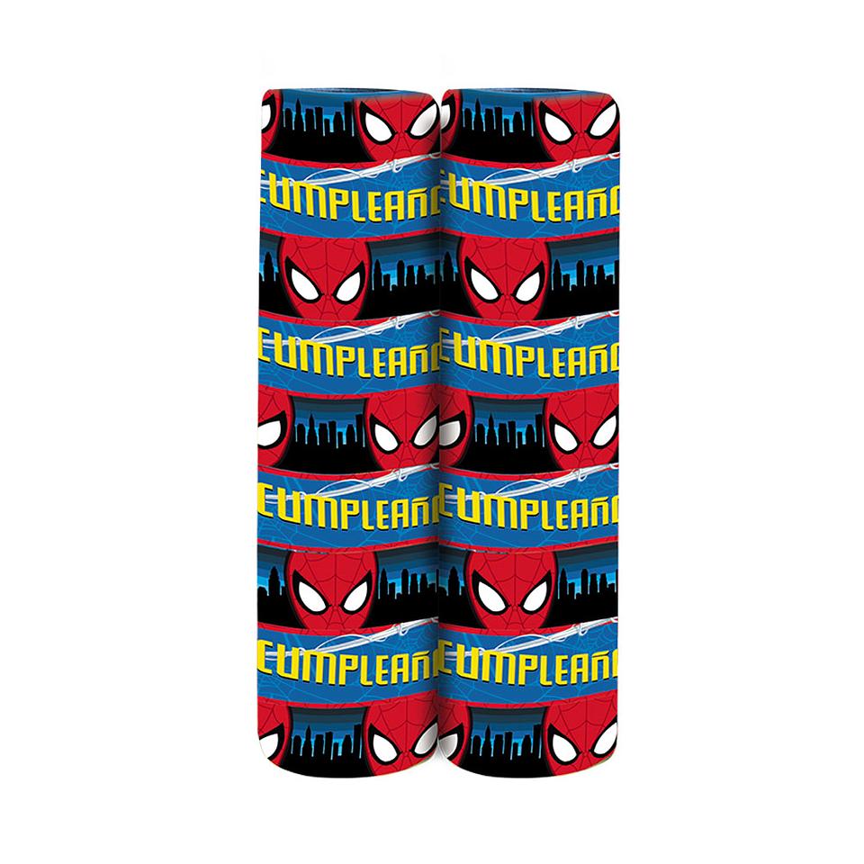Serpentina Deluxe De Spiderman X 2 Unidades