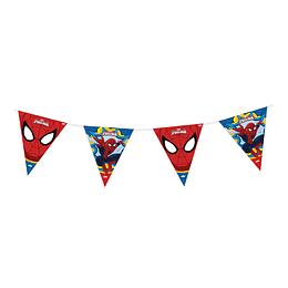 Banderola Metalizada De Spiderman