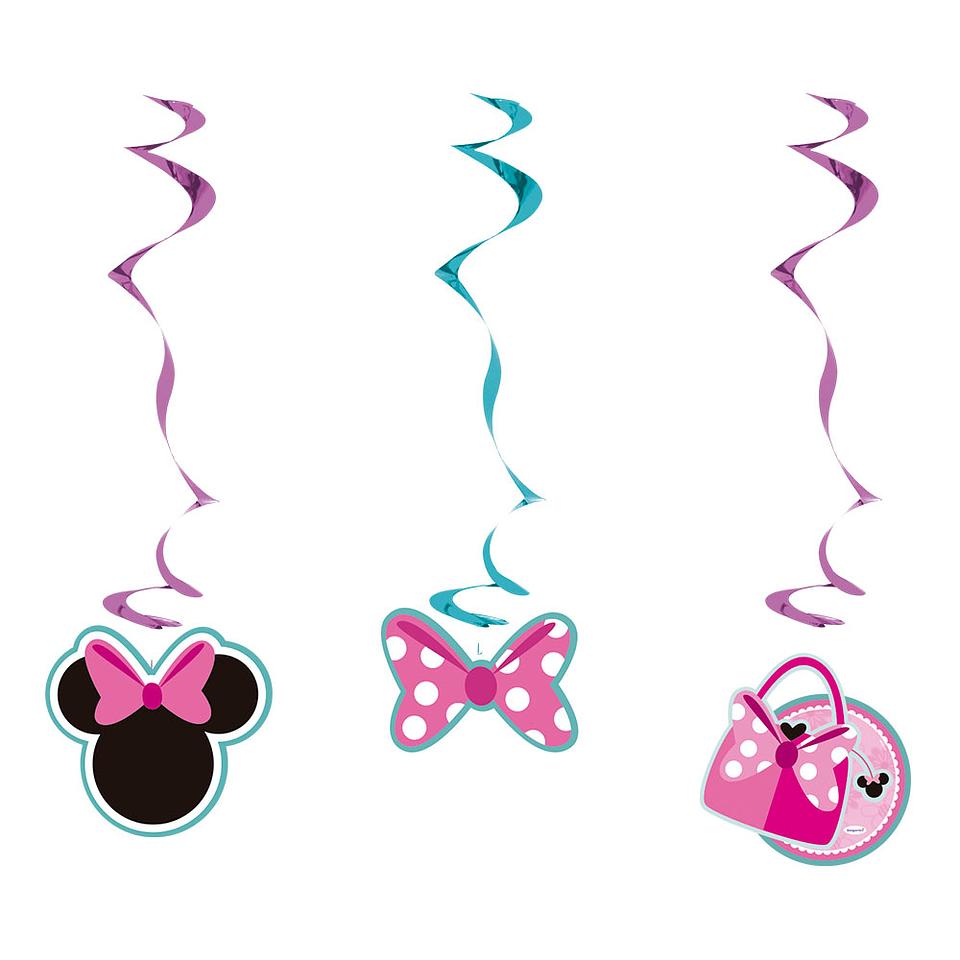 Espirales de Minnie X 3