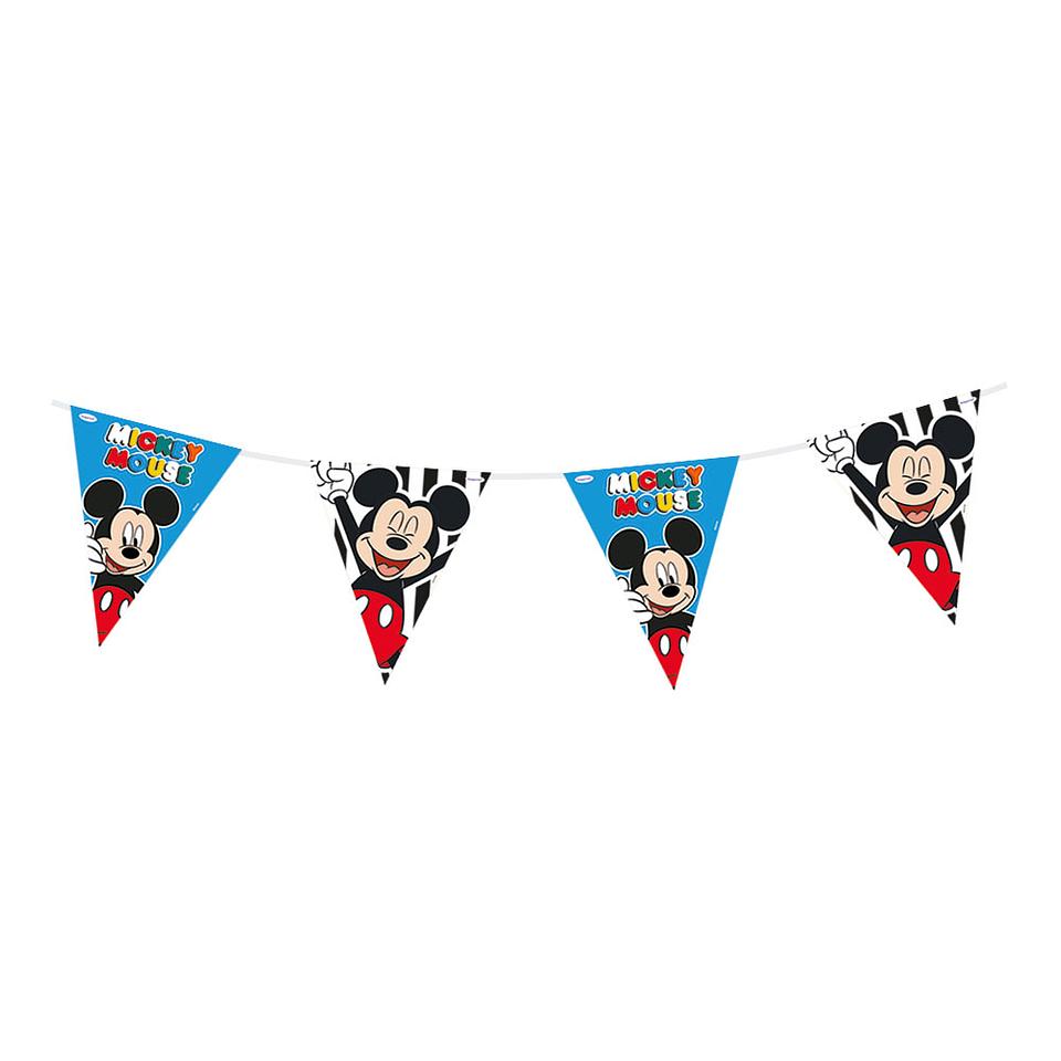 Banderola Metalizada De Mickey Face Time