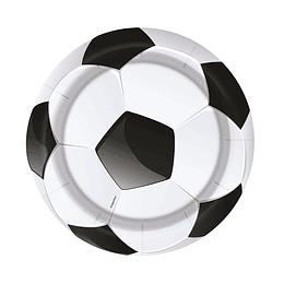 """Plato 7"""" Balón de Fútbol"""