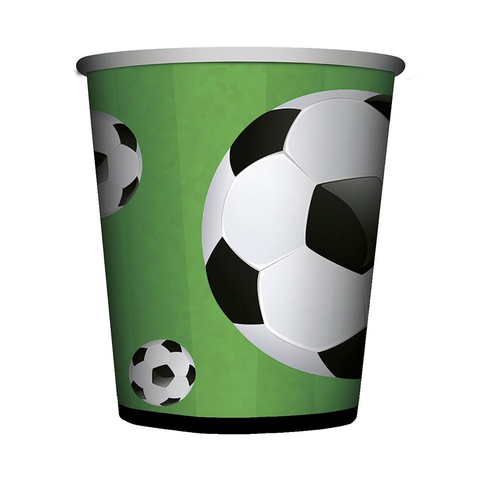 Vaso 9 oz  Balón de Fútbol