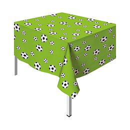 Mantel peva Rectangular Balones de Fútbol