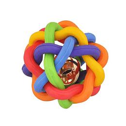 Pelota Para Mascotas Nudo Multicolor AM