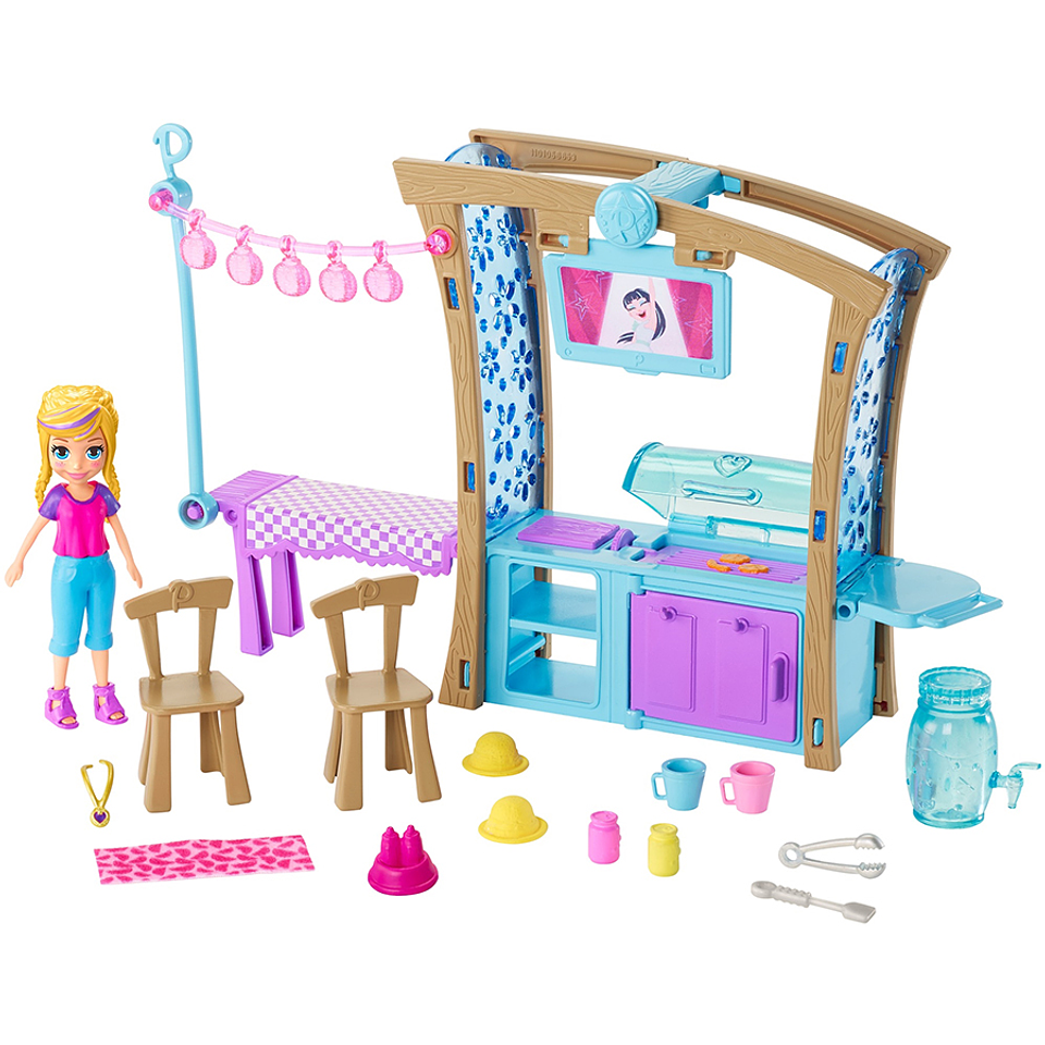 Polly Pocket Fiesta de parrillada
