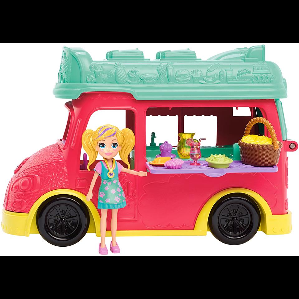 Polly Pocket Food Truck de Licuados