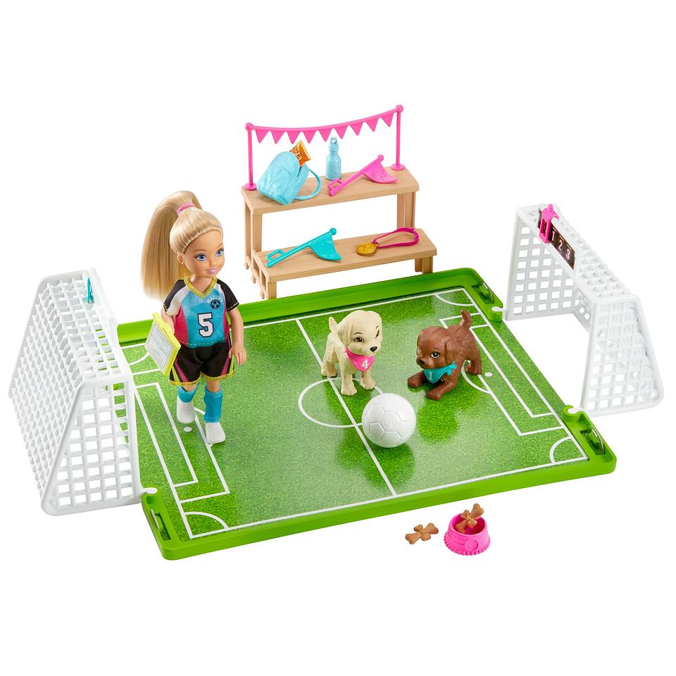 Barbie Chelsea Futbolista
