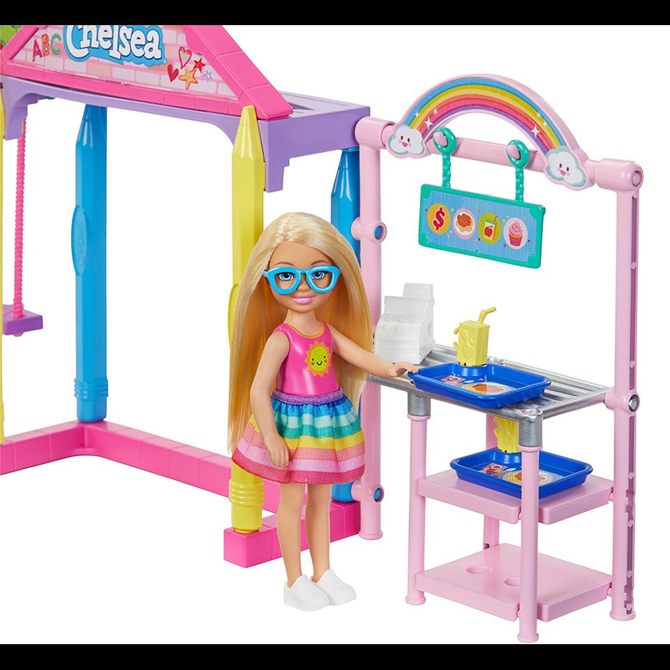 Barbie Chelsea Set de Juego Escuela