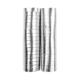 Serpentina Plata Metalizada