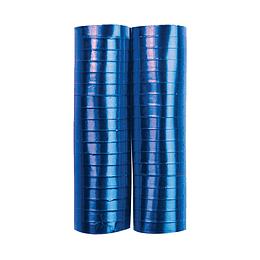 Serpentina Azul Rey Metalizada