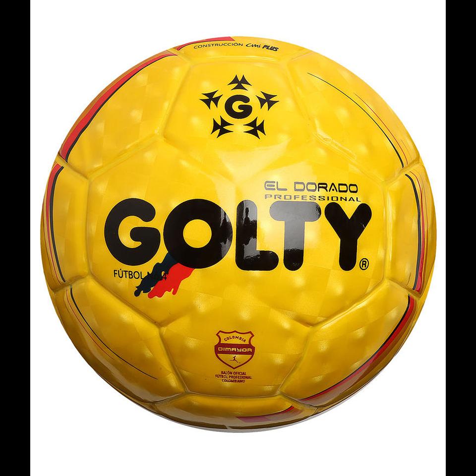 Balón Fútbol # 5 Profesional Dorado CMI