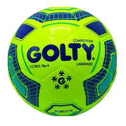Balón Fútbol # 4 Verde - Azul GOLTY Competition ON