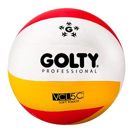 Balón Voleyboll Profesional Amarillo / Rojo