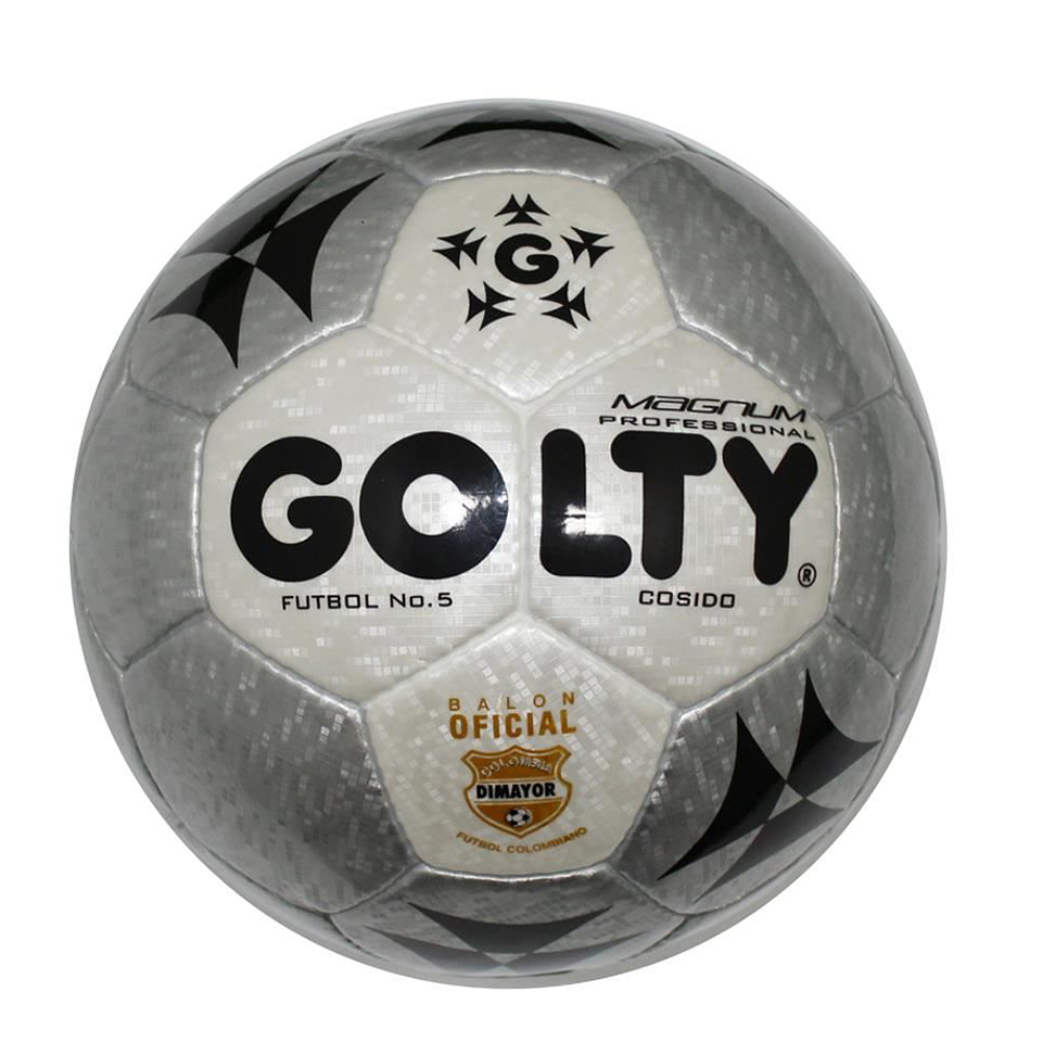 Balón Fútbol # 5 Profesional Magnum Gris