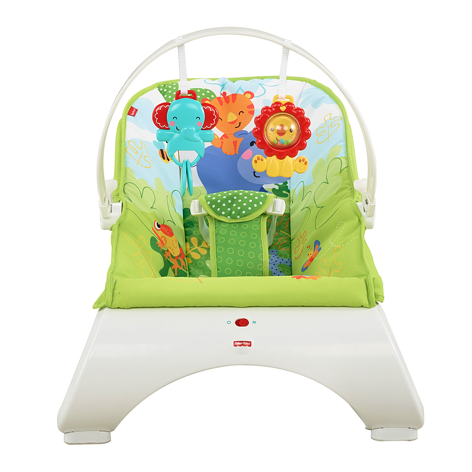 Fisher Price Silla Mecedora Amigos Naturaleza