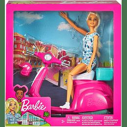 Barbie Muñeca Y Moto