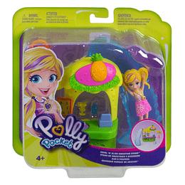 Polly Pocket Stand de Smoothies Quiosco de Piña