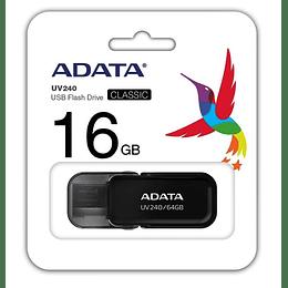 Memoria USB 16GB Adata negra