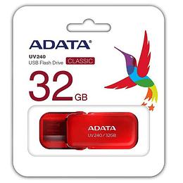Memoria usb 32GB Adata roja