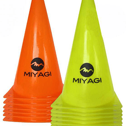 Cono plástico Miyagi 30 cms x 1 Unidad