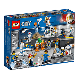Lego City Set Astronautas