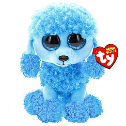 Peluches Ty Beanie Boos Mandy Perro Poodle Azul