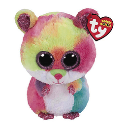 Peluches Ty Beanie Boos Rodney Hamster Multicolor