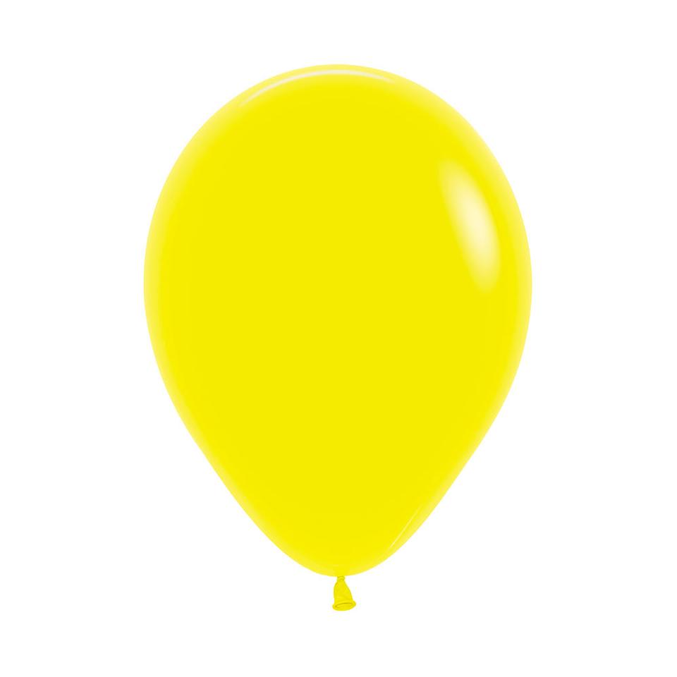 Globo Fashion Amarillo x 12 unidades