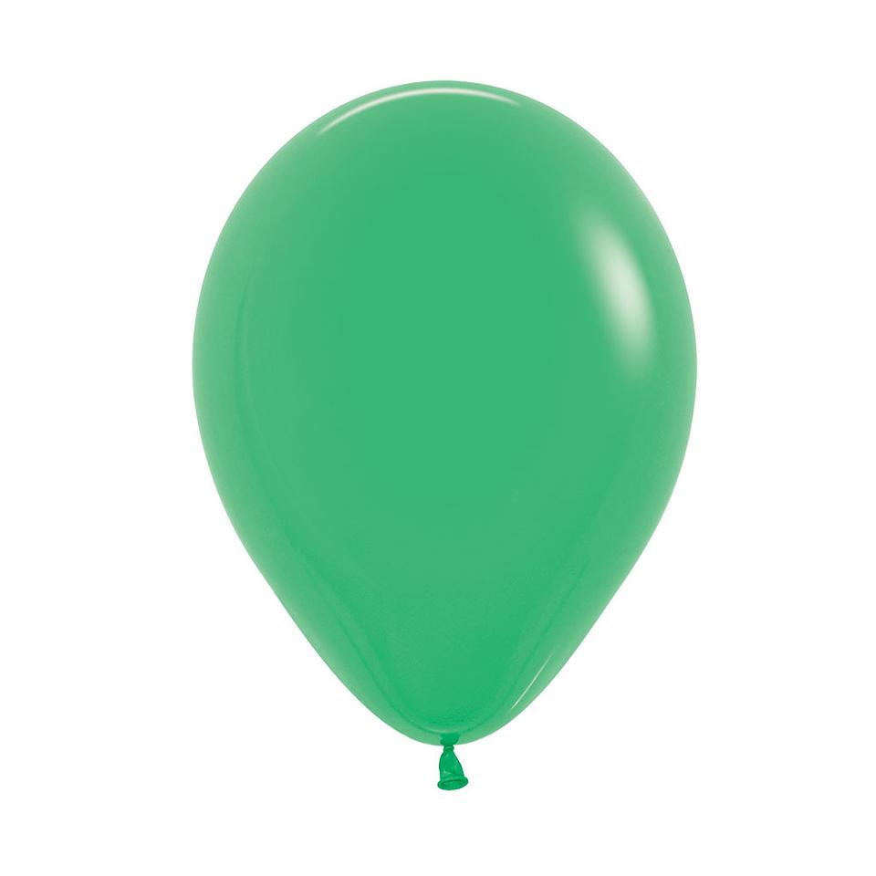 Globo Fashion Verde Jade x 12 unidades