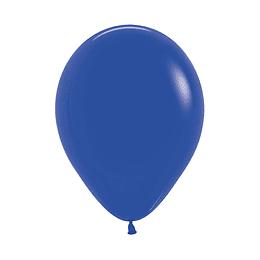 Globo Fashion Azul Rey x 12 unidades