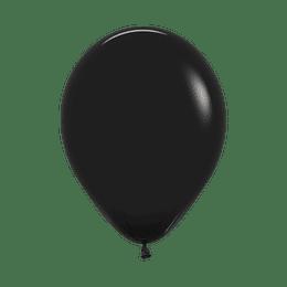 Globo Fashion Negro x 12 unidades