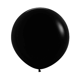 Globo R-24 Fashion Negro x 1 unidad