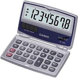 Calculadora Casio bolsillo tipo agenda