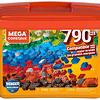 Mega Caja de Construcción con 790 Micro Bloques