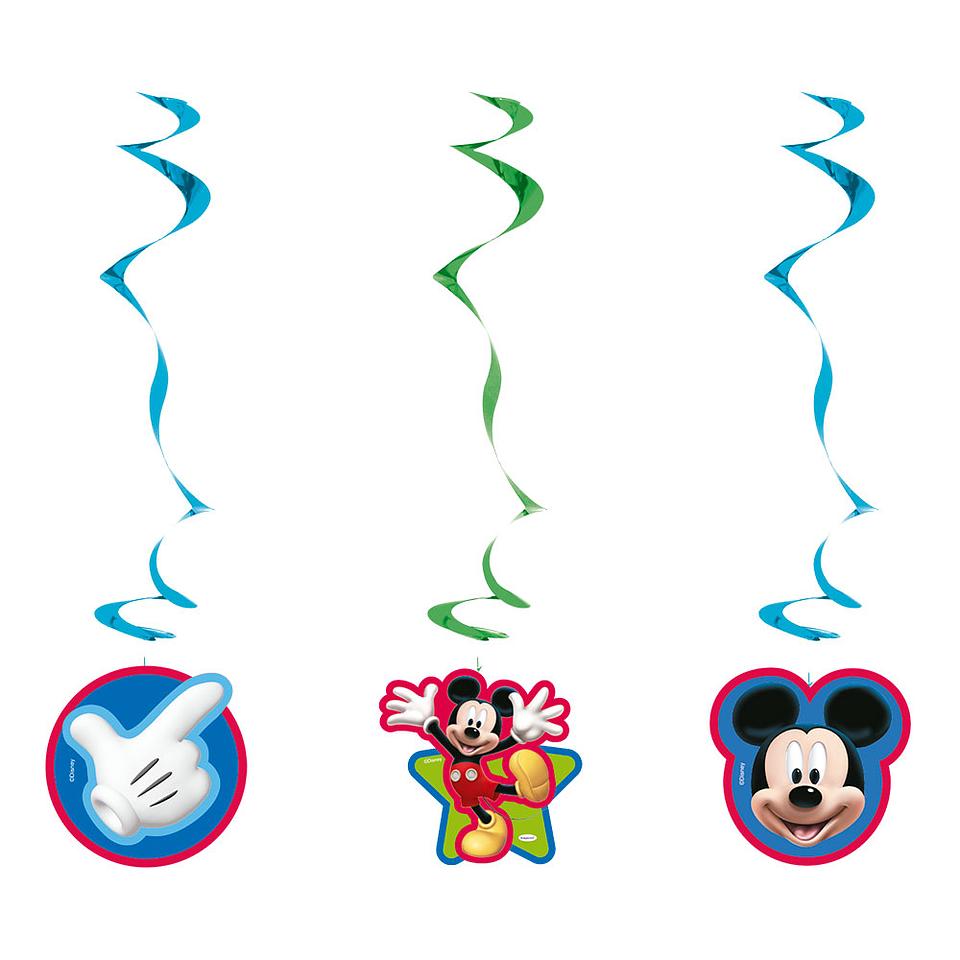 Espirales De Mickey X 3 Unidades