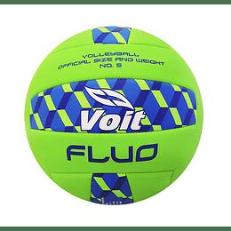 Balón voleibol # 5 verde fluo