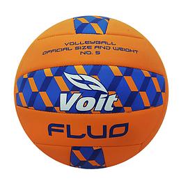 Balón voleibol # 5 Naranja fluo