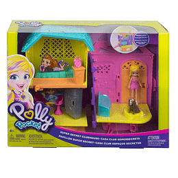 Polly Pocket Set de Juego Polly y Peaches