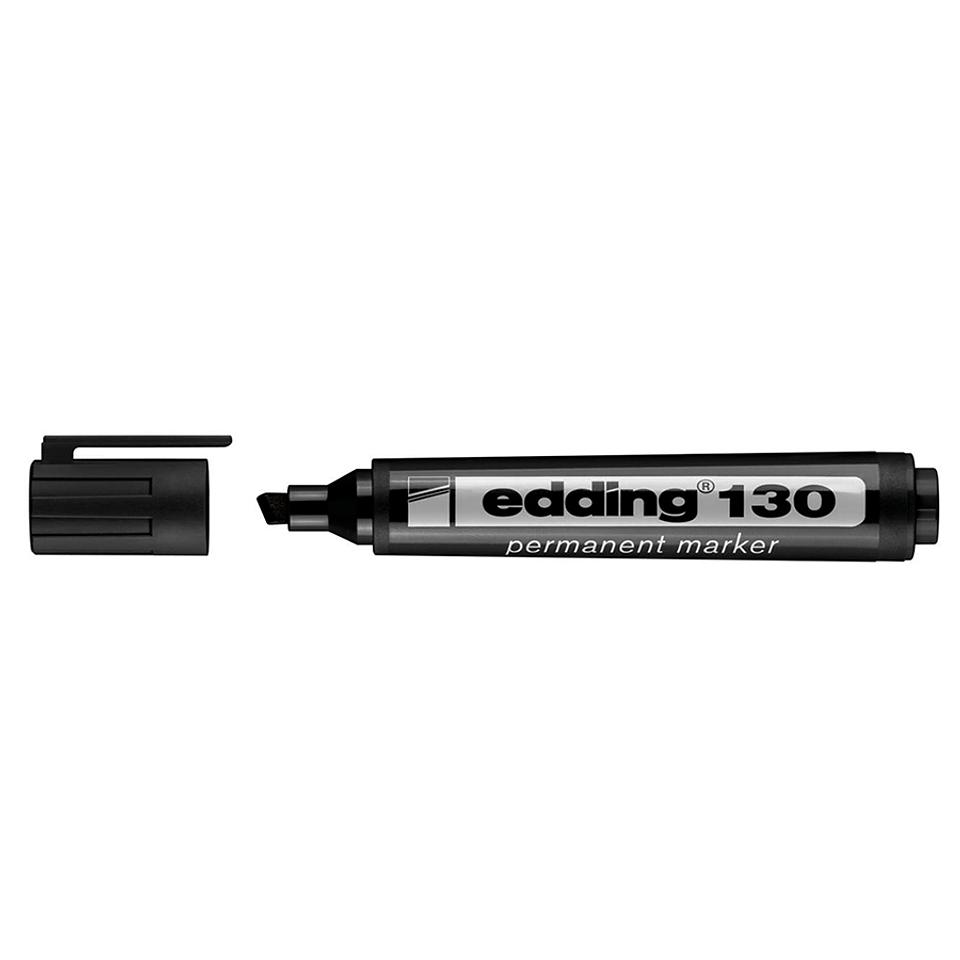 Marcador permanente E130 negro