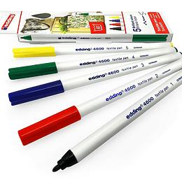 Marcadores Edding 4600 colores básicos