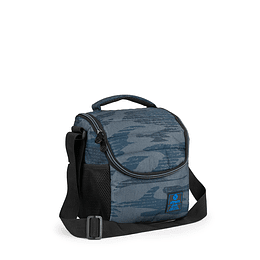 Lonchera Lunch Bag Break 003 Blue Camo