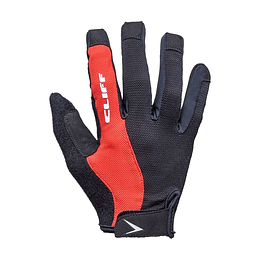 Guantes cliff performance dl rojo l