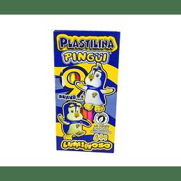 Plastilina Pingüi X 9 Unidades Larga