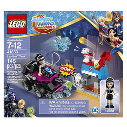 Lego Super Hero Girl Tanque De Lashina