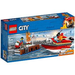 Lego City Bomberos En Acción