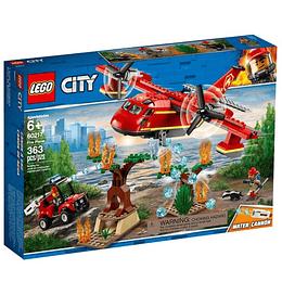 Lego City Avión De Bomberos