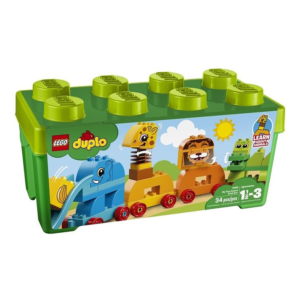Lego Duplo Mi Primer Caja De Animalitos