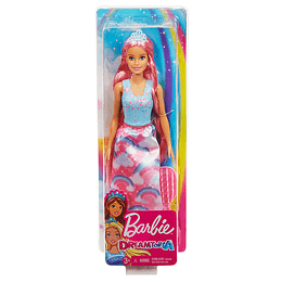 Barbie Dreamtopia Peinados Arcoiris