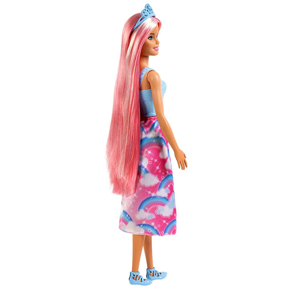Barbie Dreamtopia Peinados Arcoiris